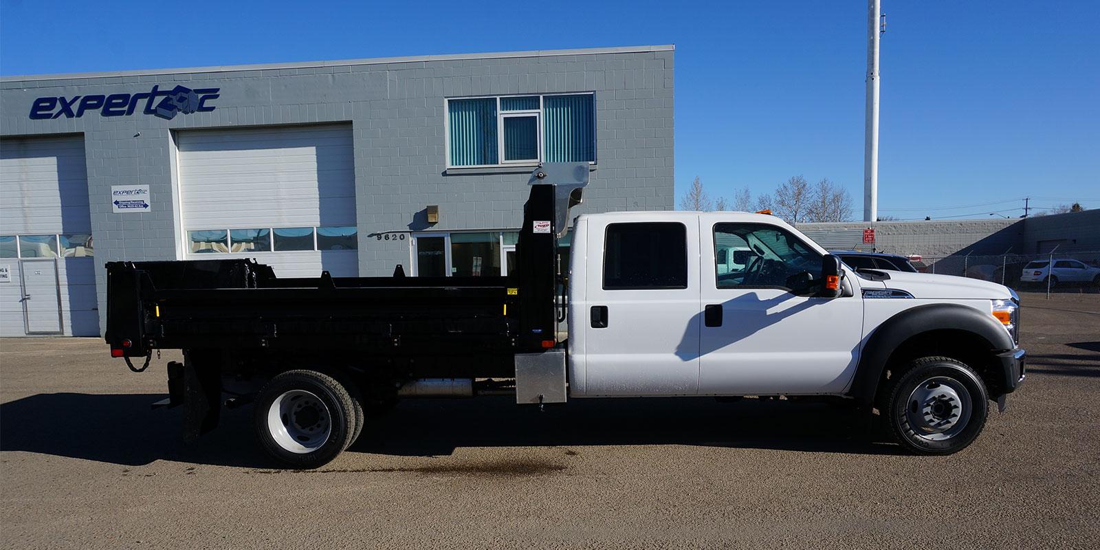 Flat Decks Dump Bodies And Truck Beds For Work Pickup Trucks