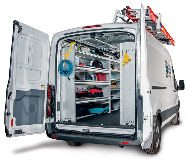 Ranger Design - Commercial Vehicle Shelving and Storage