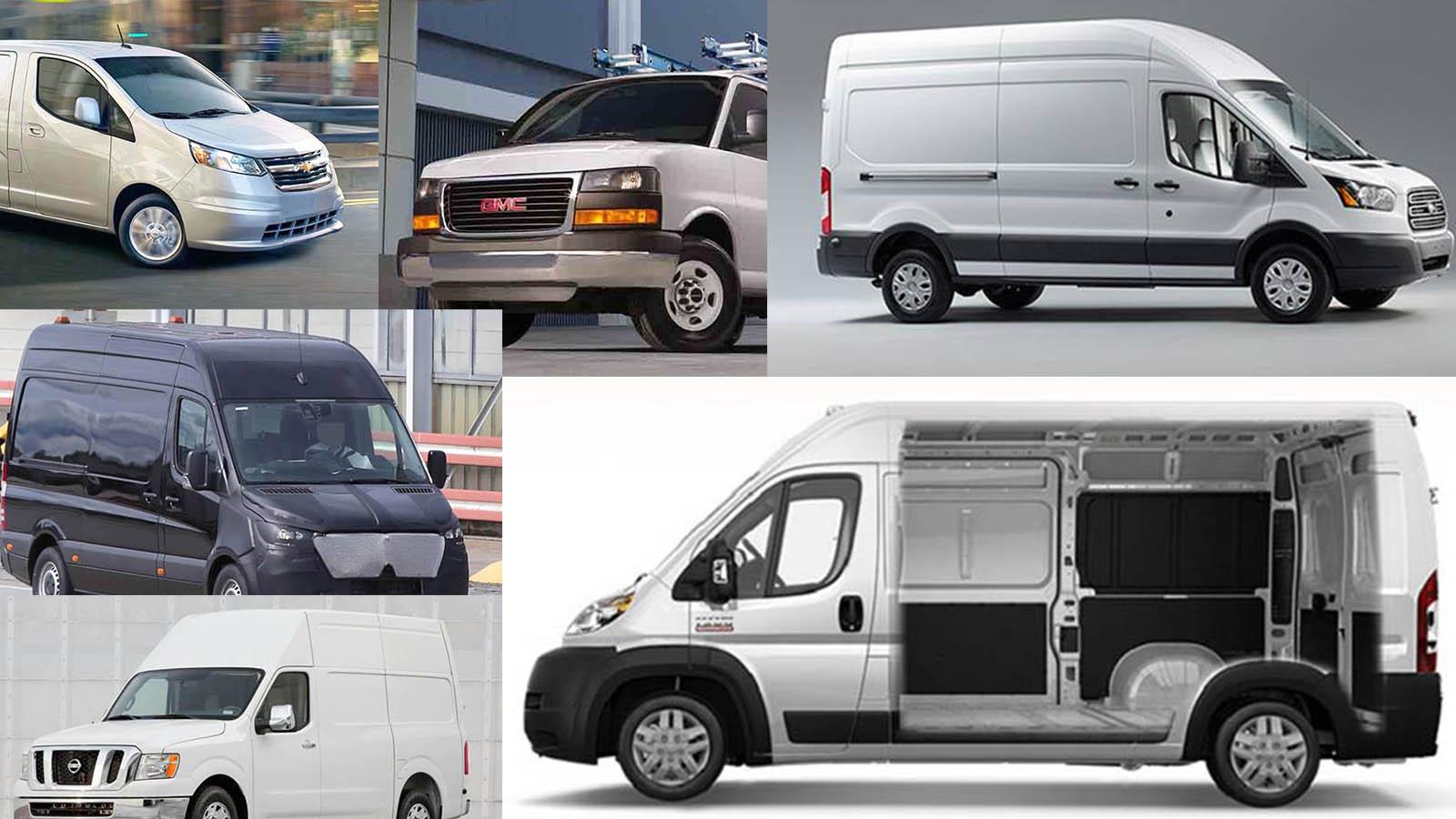 vans 2018. going to work in 2018 - the new vans