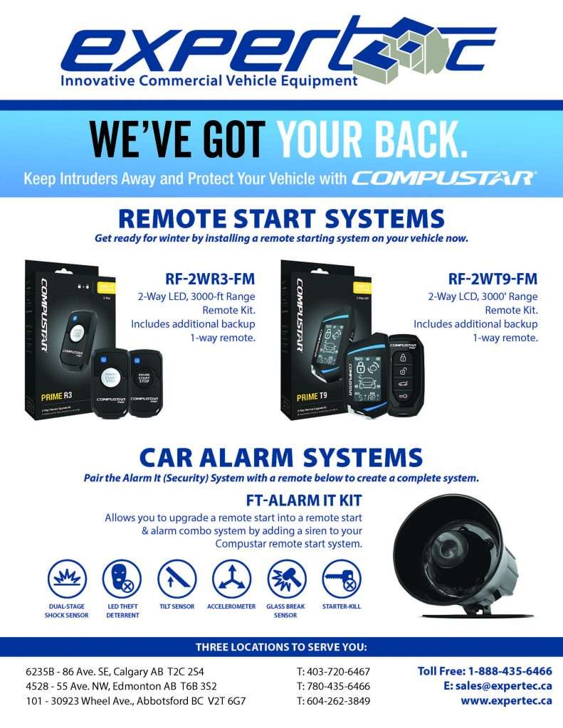 Remote Car Starts and Alarms for Fleets