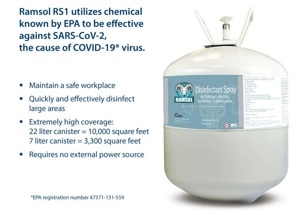 Ramsol Disinfectant Spray System