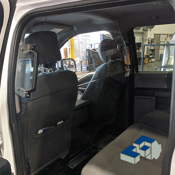Staying Safe with Crew View Sneeze Guard Vehicle Partitions